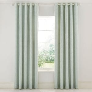 """Sanderson Chiswick Grove Curtains Sea Pink 66 x 72"""""""