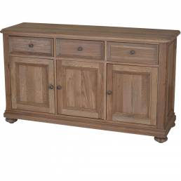 Large Sideboard with 3 Doors and 3 Drawers