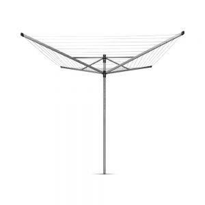 Brabantia Lift-O-Matic 60m Rotary Airer with Ground Spike