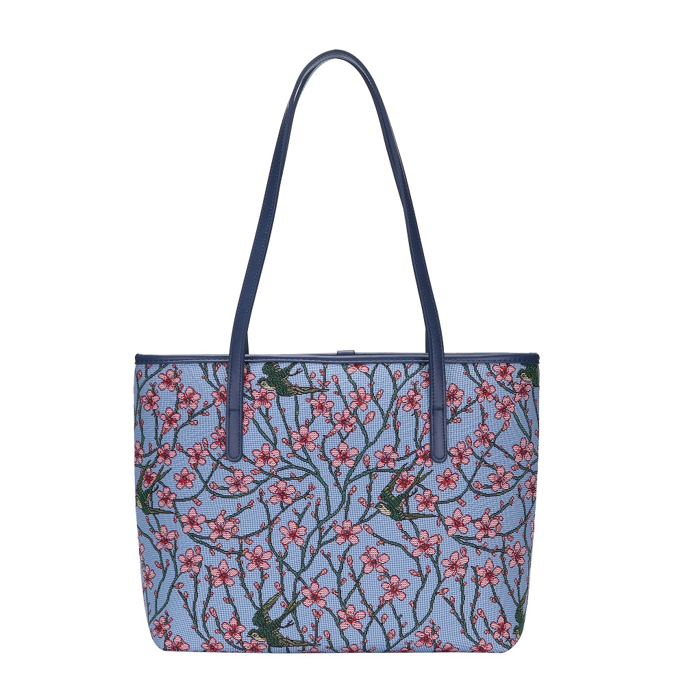 Blossom & Swallow Tote Bag