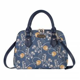 Convertible Jane Austin Bag In Blue