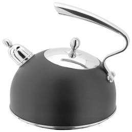 Stellar Ebony Black Stove Top Kettle 2.5L