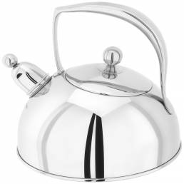 Stellar Bresor Polished Stove Top Kettle 2L