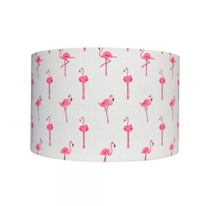 Sophie Allport Flamingo 40CM Drum Shade