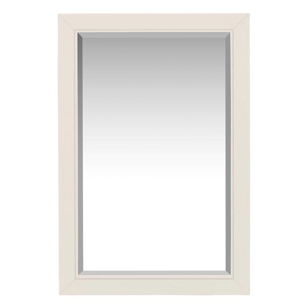 Bromley Wall Mirror White