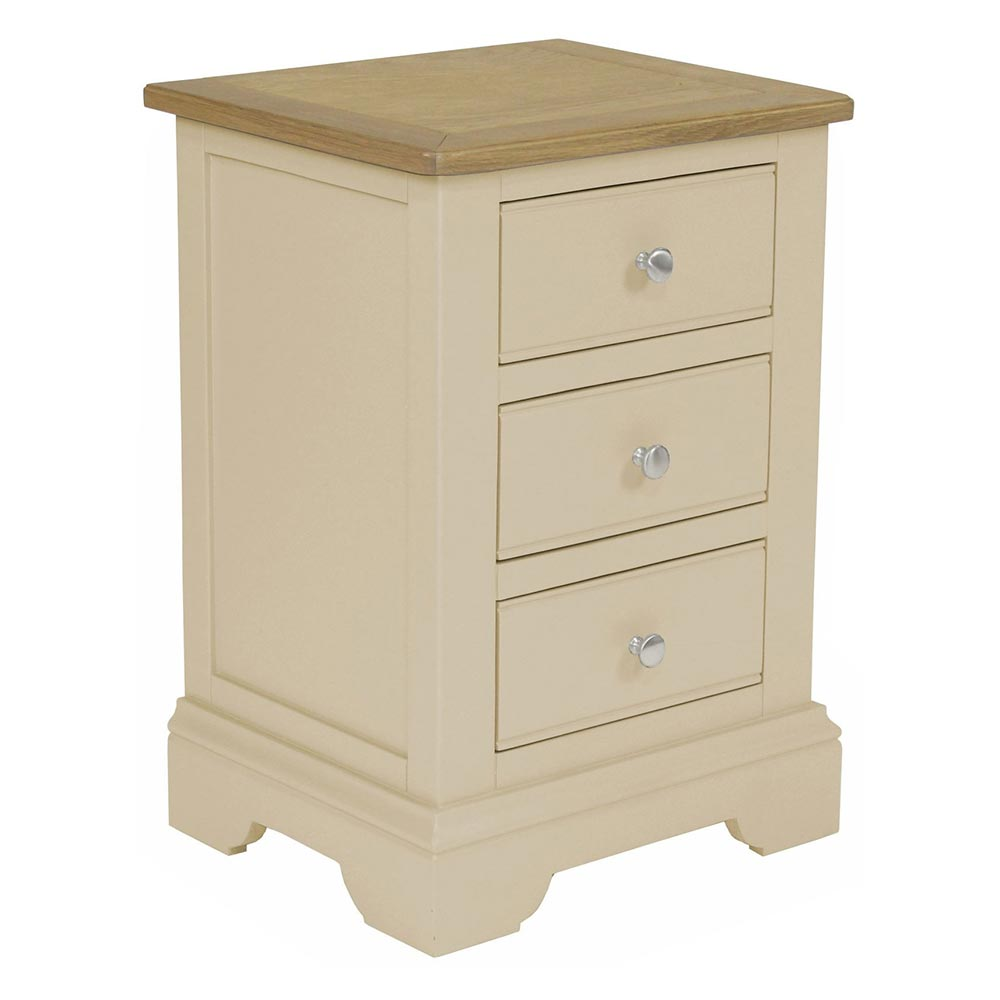 Harlow 3 Drawer Bedside