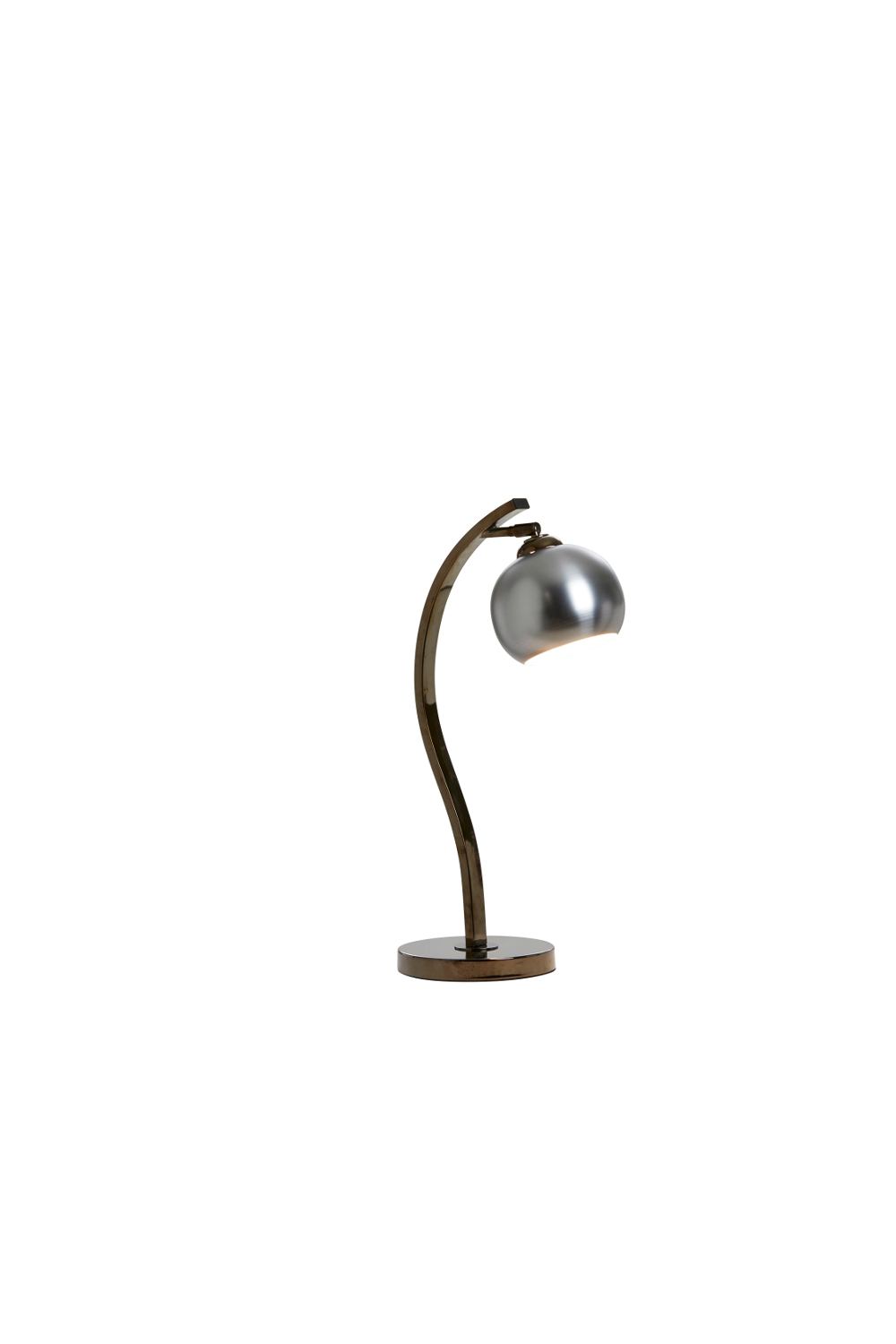 Cocoon Table Lamp In Steel