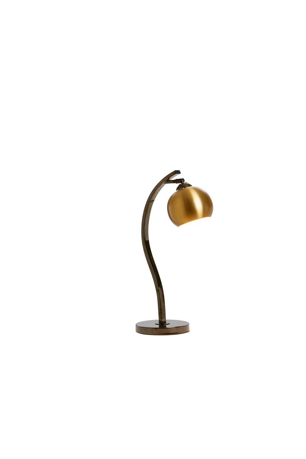 Cocoon Table Lamp In Brass