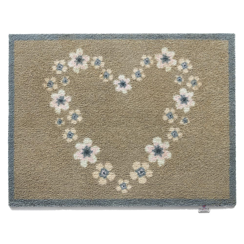 Nature Heart Door Mat 0.65 X 0.85M