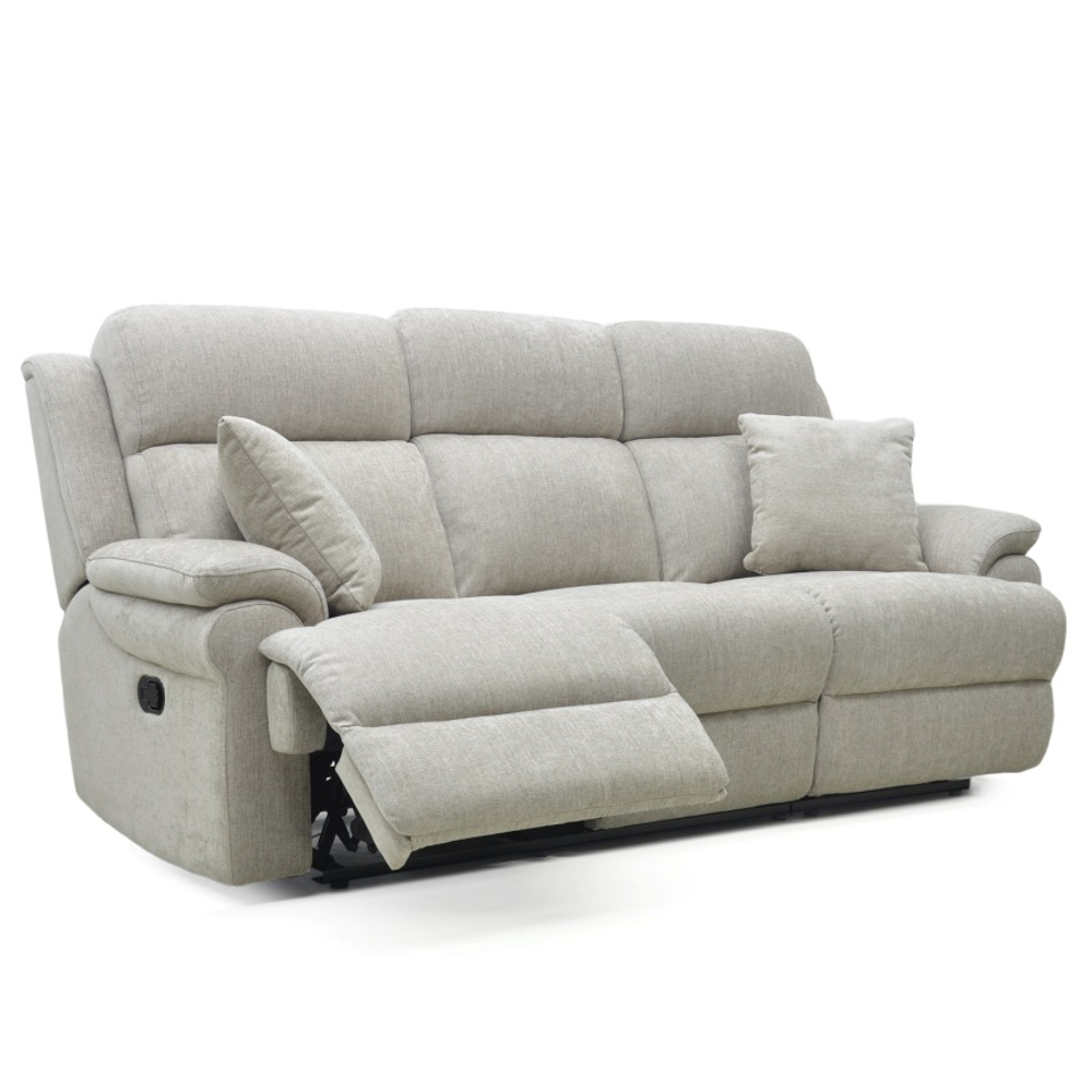 Nebraska 3 Seater Power Recliner Sofa + Head Tilt
