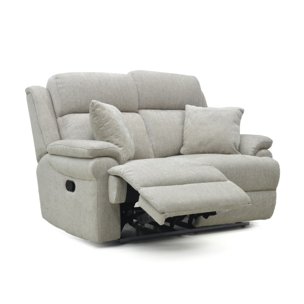 Nebraska 2 Seater Power Recliner Sofa + Head Tilt