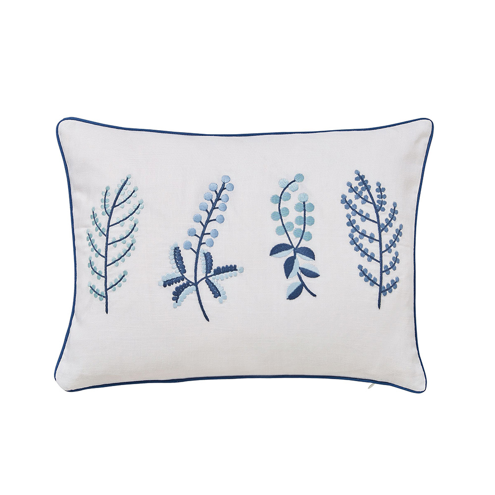 Sanderson Home Paper Doves Cushion 40x30cm Denim