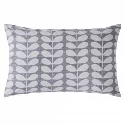 Orla Kiely Placement Scribble Stem Housewife Pillowcase Pair Pebble