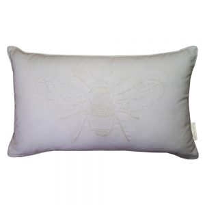 Sophie Allport Bees Cushion White