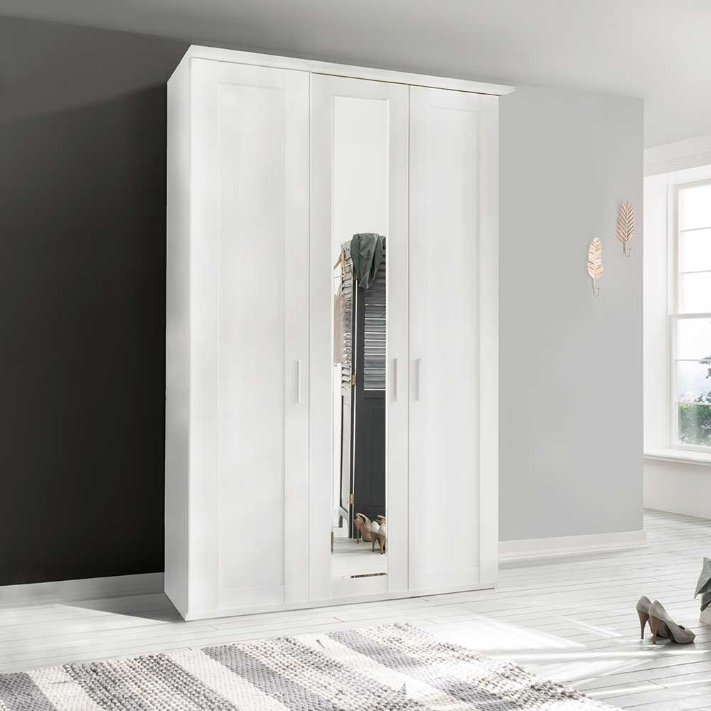 Cleveland 3 Door Mirrored Wardrobe