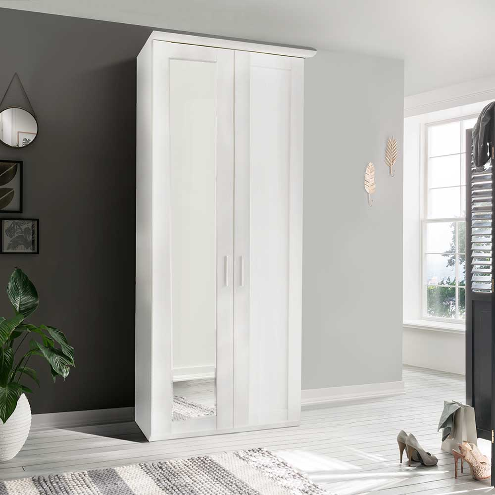 CLEVELAND 501 2 DOOR ROBE LEFT HAND MIRRORED DOOR INC CORNICE