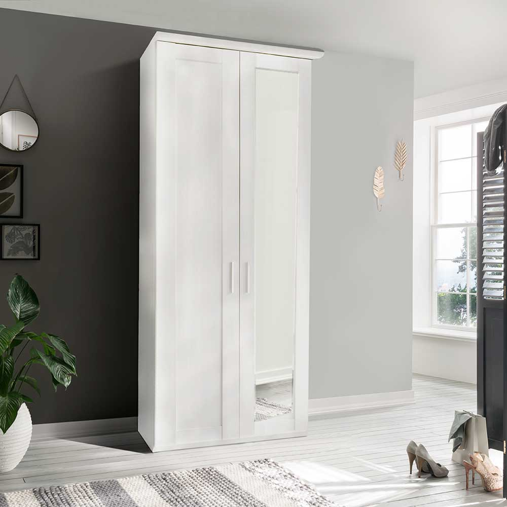 CLEVELAND 502 2 DOOR ROBE RIGHT HAND MIRRORED DOOR INC CORNICE