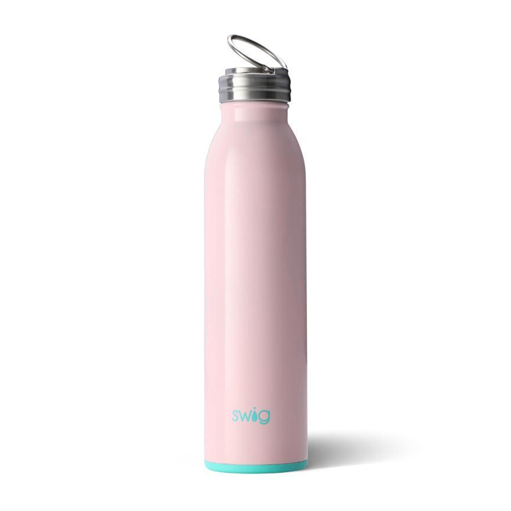 Swig Stainless Steel Water Bottle Blush