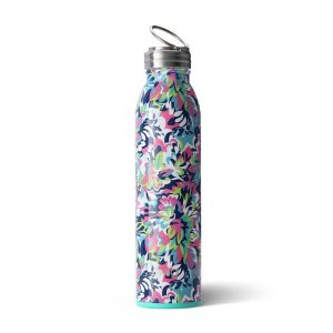 Swig Water Bottle Frilly Lily