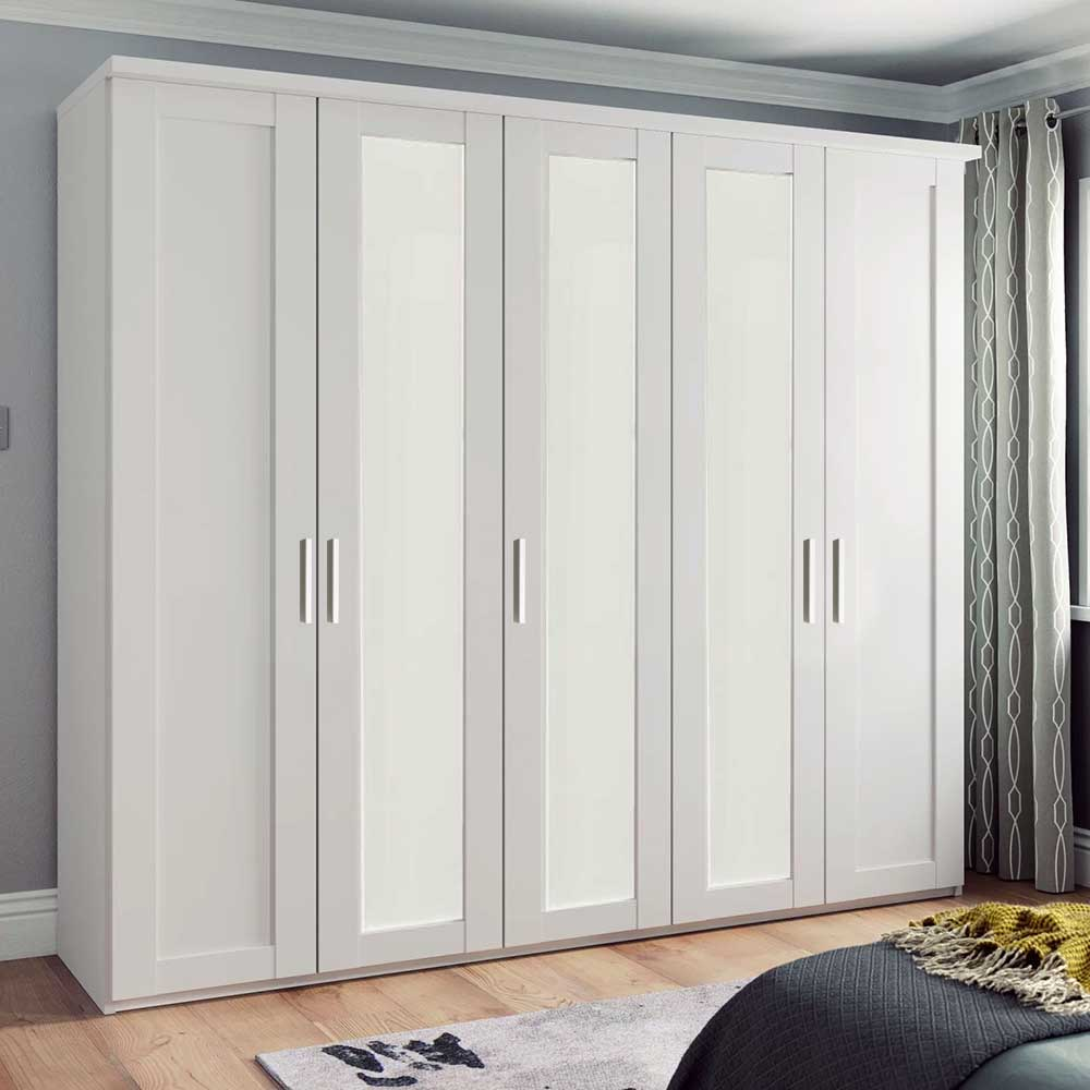 CLEVELAND 531 5 DOOR ROBE 3 MIDDLE MIRRORED DOORS INC CORNICE