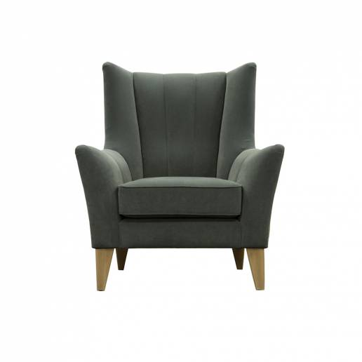 Parker Knoll Shoreditch Fluted Back Arm Chair