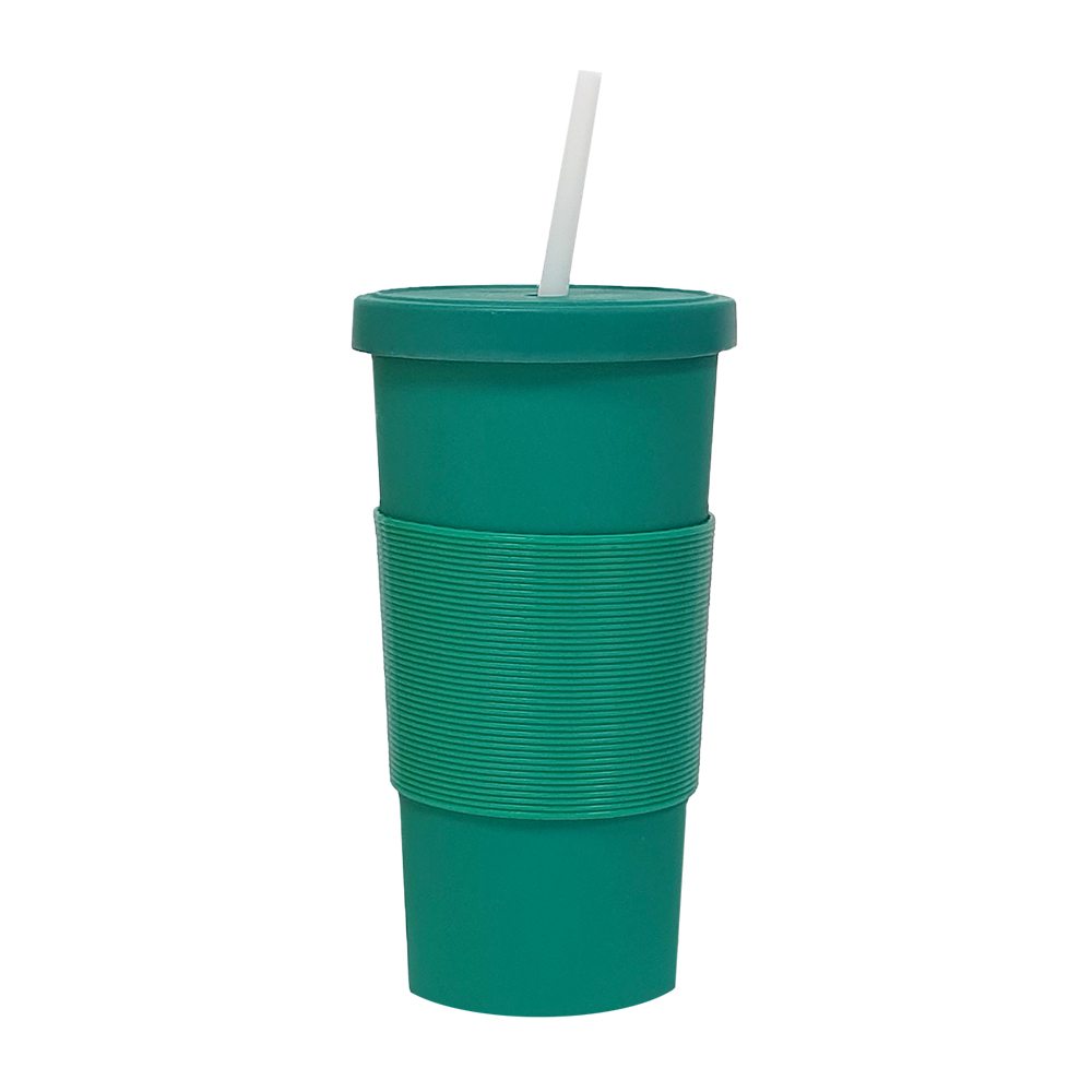 Bamboo Fibre Reusable Cup Green 750ml