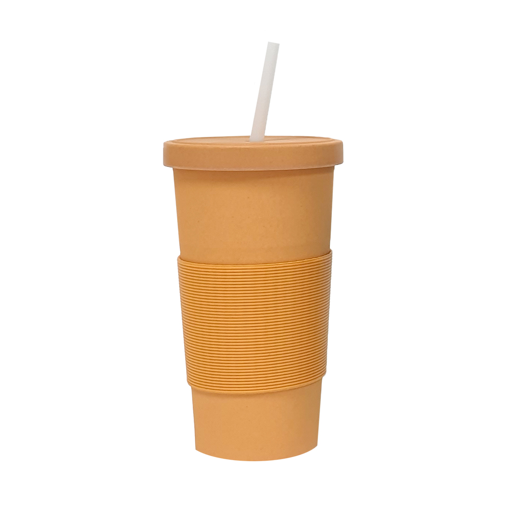 Bamboo Fibre Reusable Cup Two Tone 750ml
