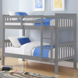 Pluto Bunk Bed Grey