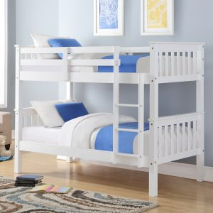 Pluto Bunk Bed White