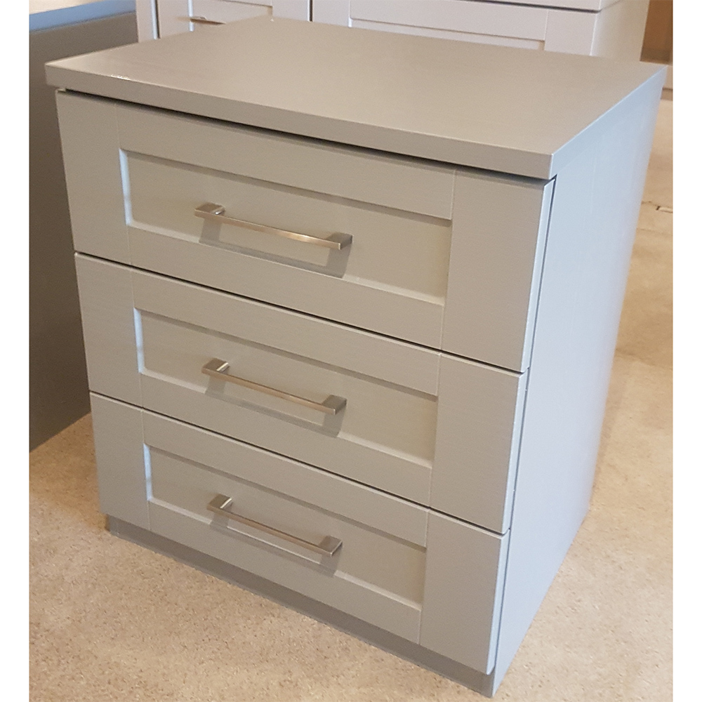 abingdon 3 drawer wide chest cashmere