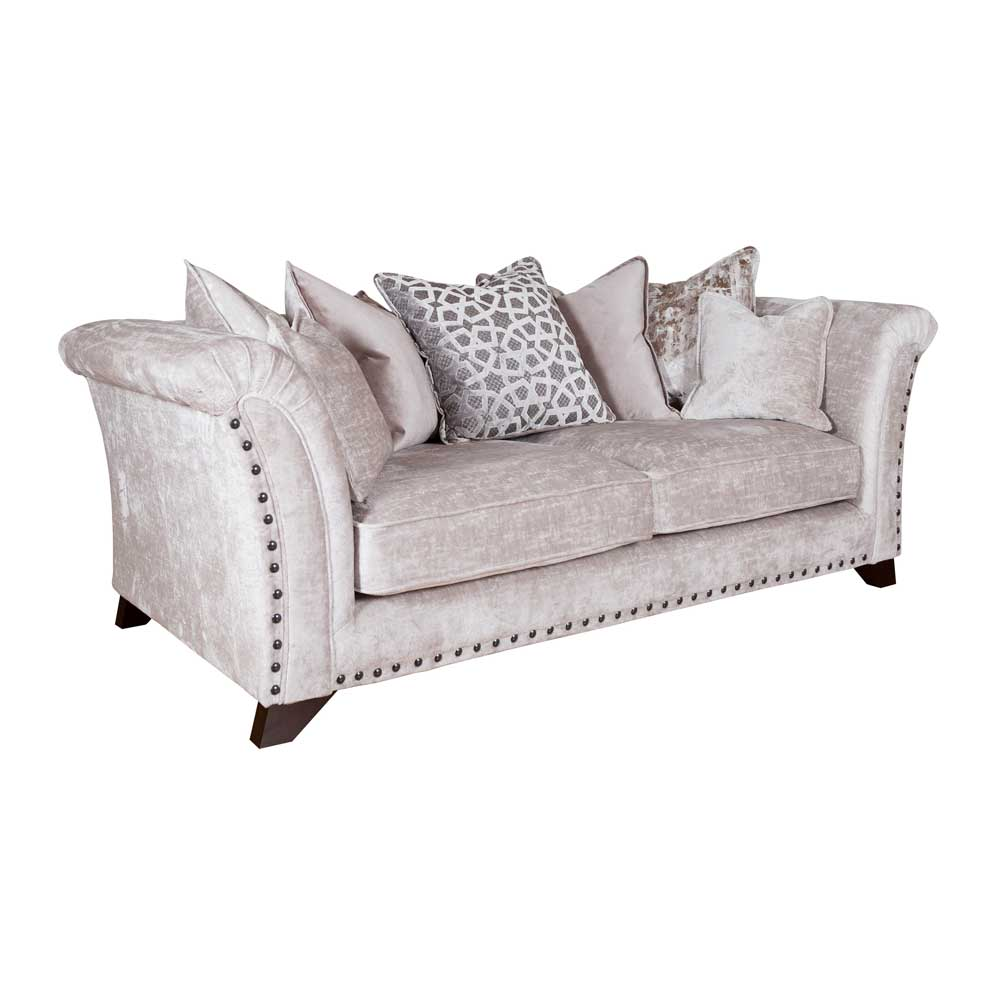 VIENNA 3 SEATER PILLOW BACK - FABRIC (C)