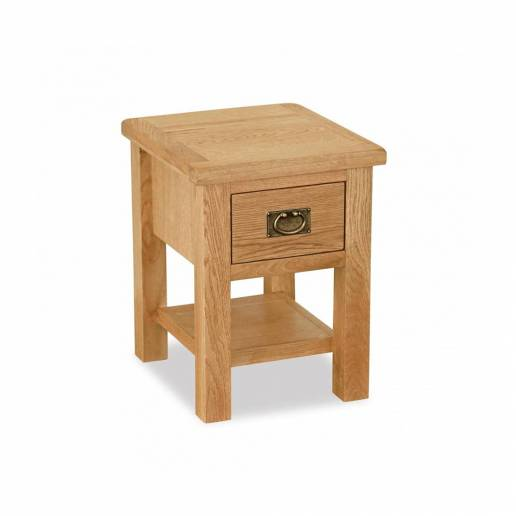 Vienna Lamp Table with Drawer