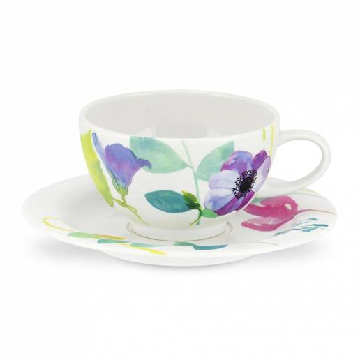 Portmerion Water Garden Breakfast Cup & Saucer