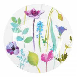 Portmerion Water Garden Plate Coupe 22.5cm