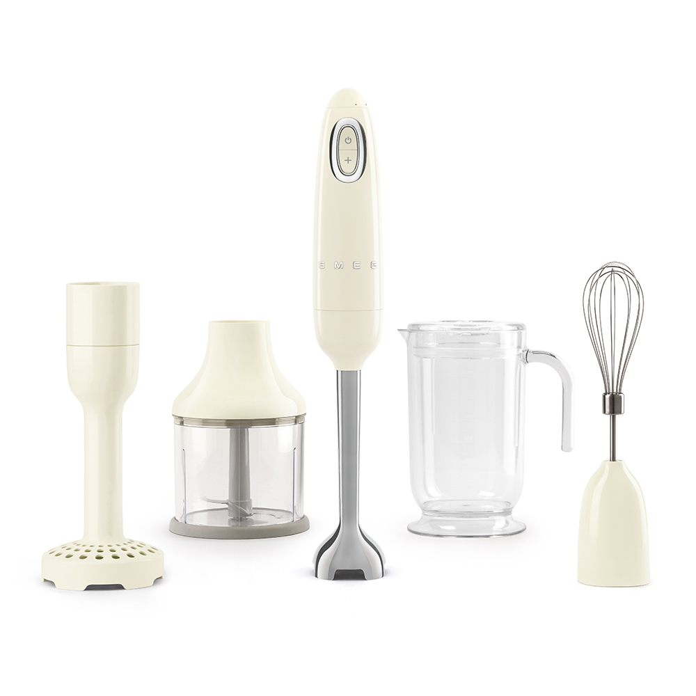 Smeg Hand Blender Set Cream