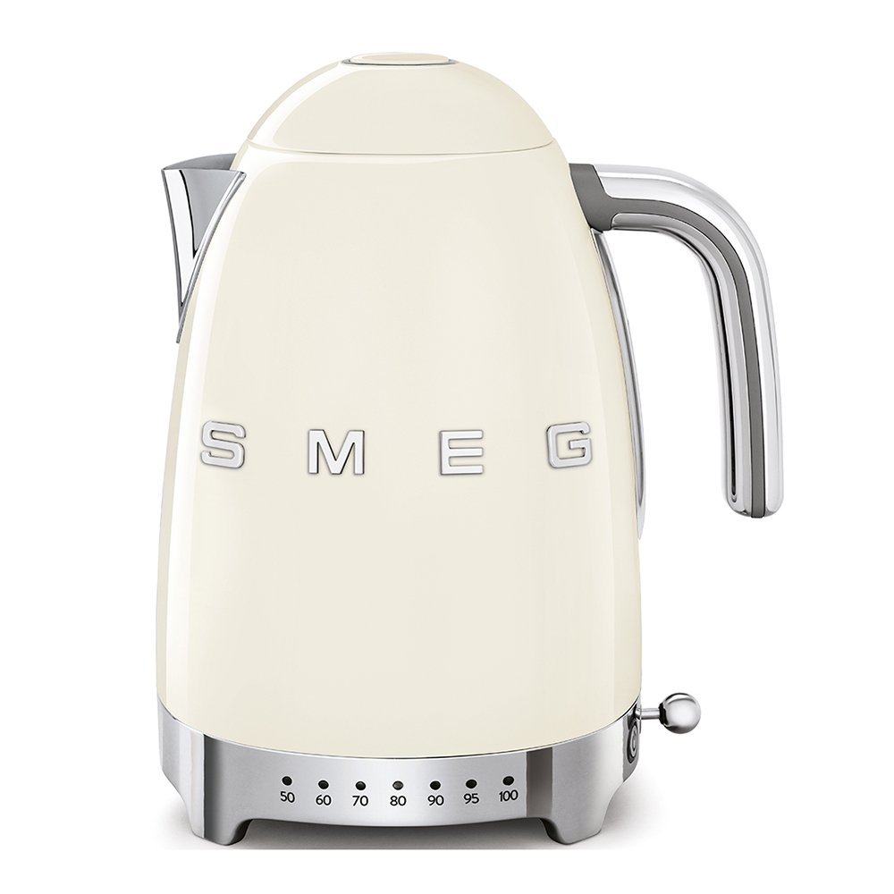 Smeg Variable Temperature Kettle Cream