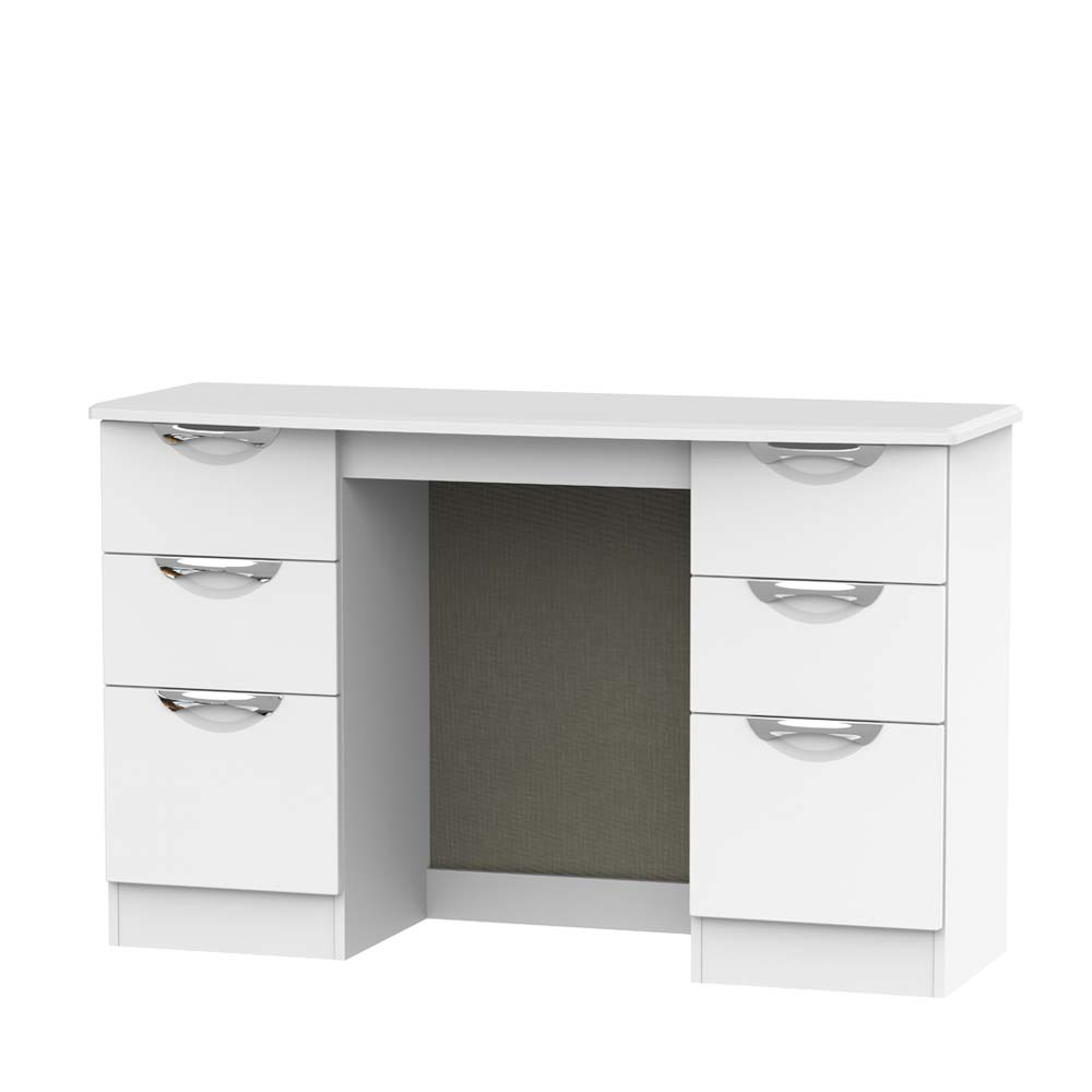Chicago 6 Drawer Kneehole