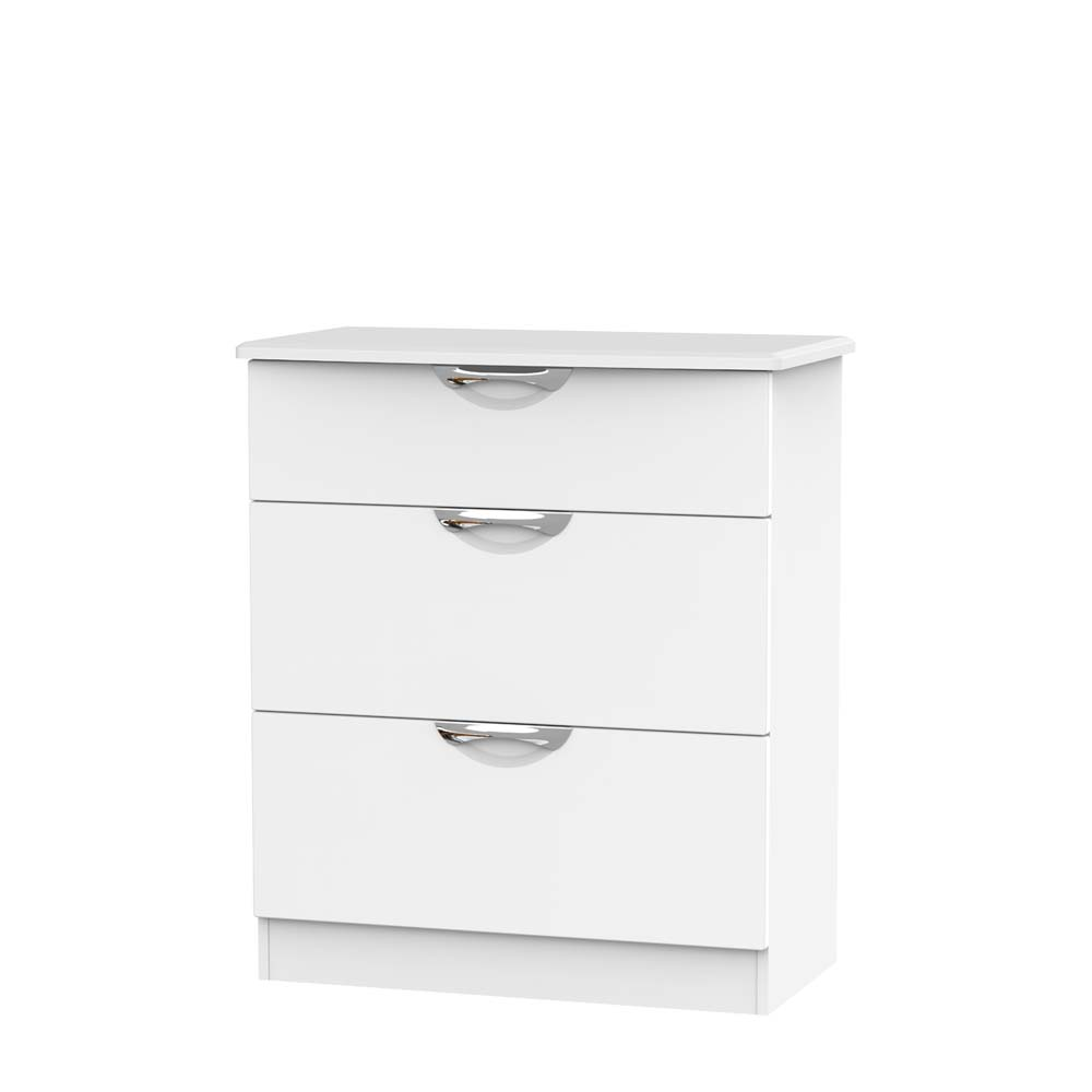 Chicago 3 Drawer Deep Chest