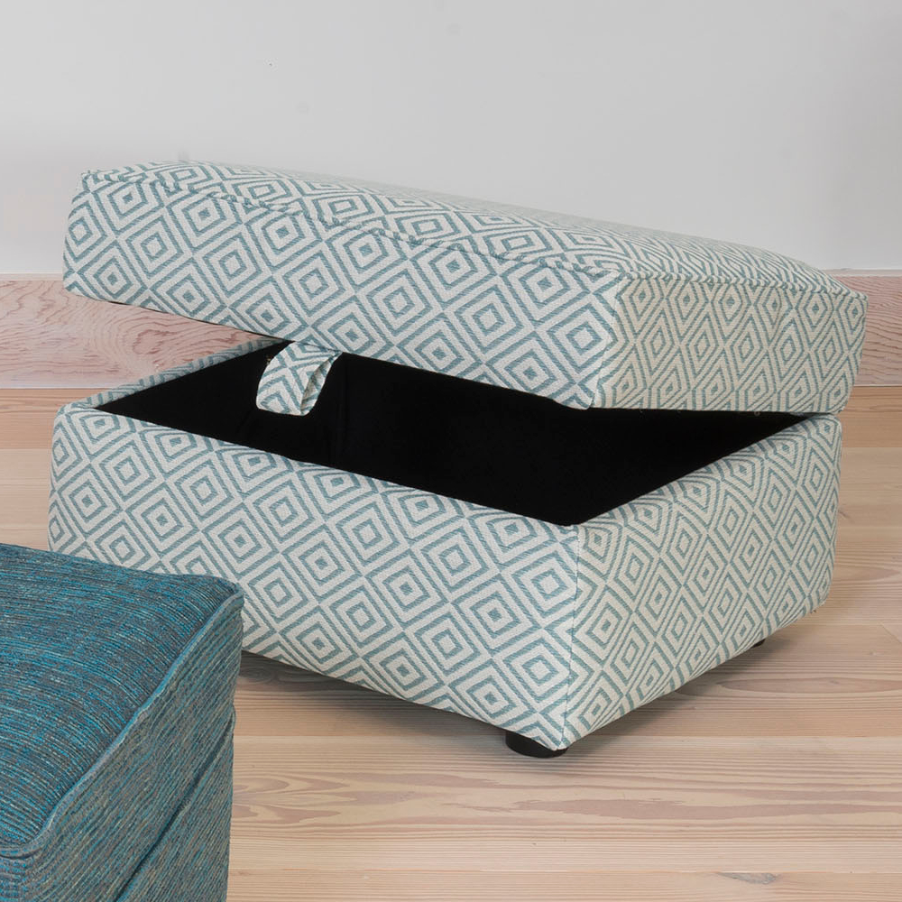 BELLE STORAGE STOOL - FABRIC (SE.A)
