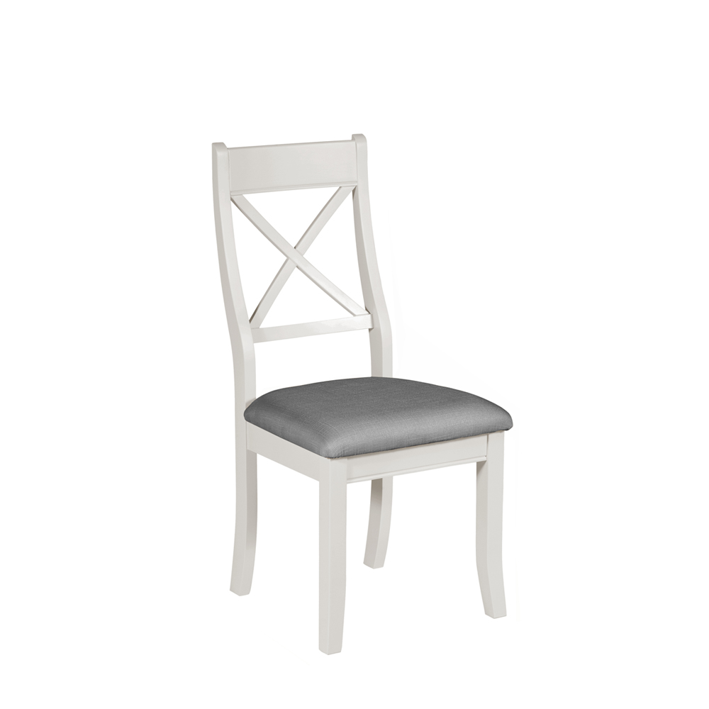 Bromley Bedroom Chair Grey