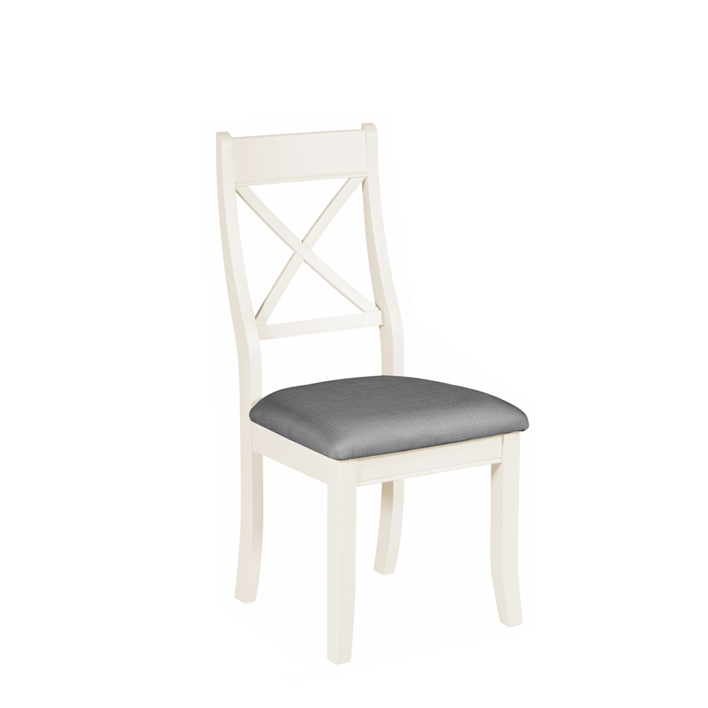 Bromley Bedroom Chair White