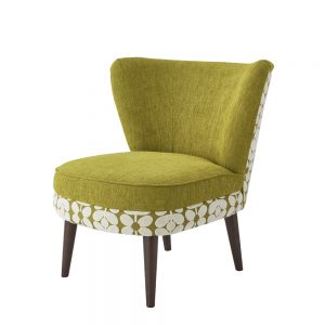 Orla Kiely Una Cocktail Chair Plain & Velvet