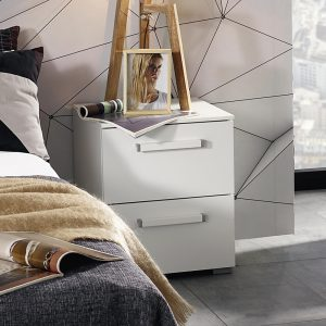 Albany 2 Drawer Bedside