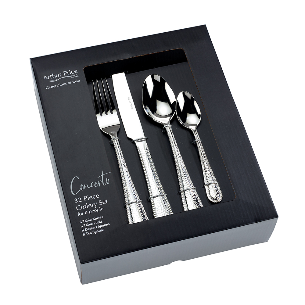 Arthur Price Concerto 32 Piece Cutlery Set