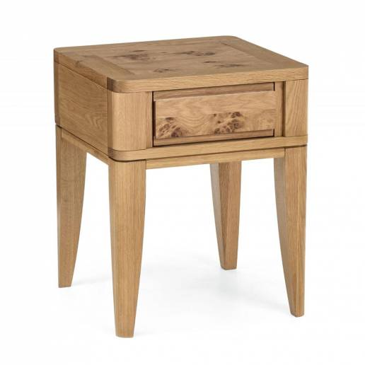 Hillingdon Oak Lamp Table with Drawer