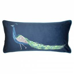 Sophie Allport Peacock Cushion 30x60cm
