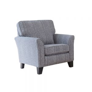 BELLE ACCENT CHAIR  - FABRIC (E)