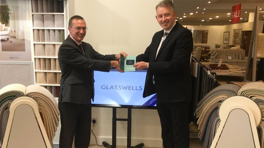 Flooring One Axminster Carpets Incentive Winner - Glasswells