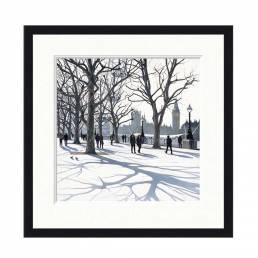 South Bank by Jo Qigley- Limited Edition Framed Print