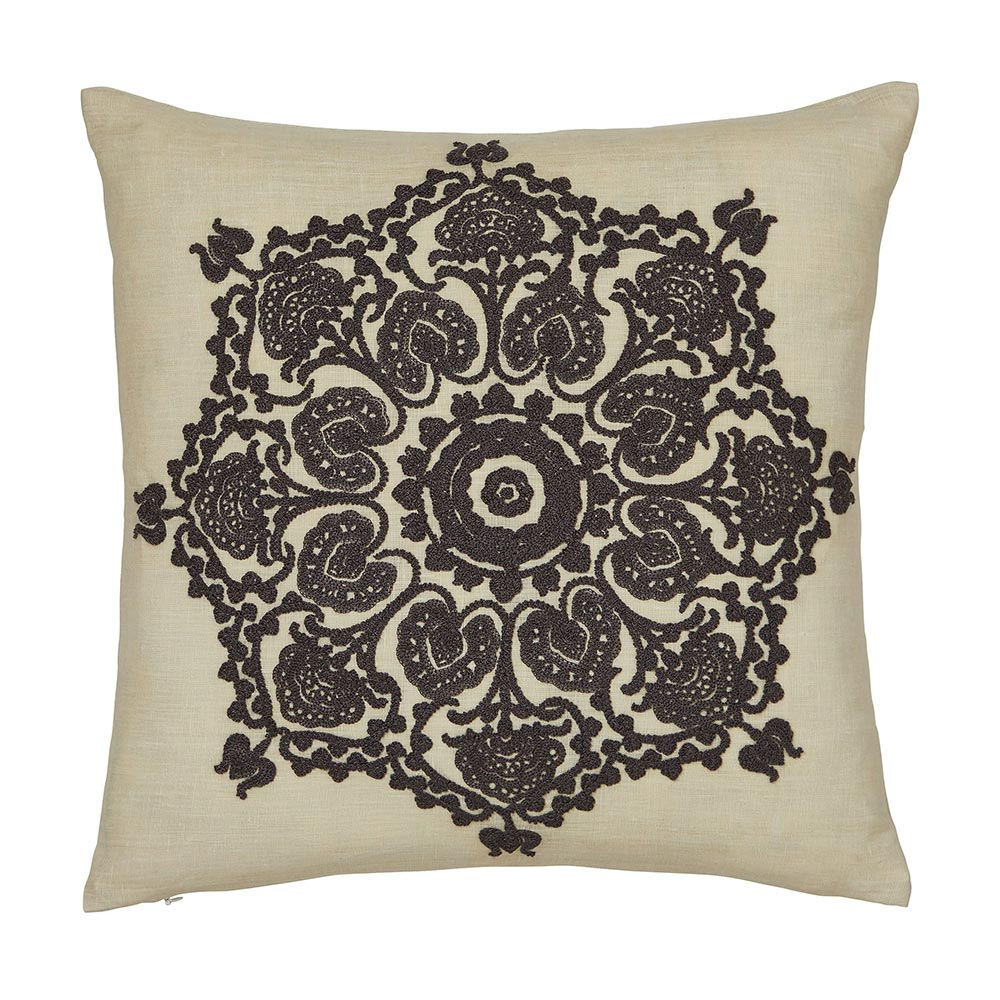 William Morris Bullerswood Cushion Charcoal 40 x 40